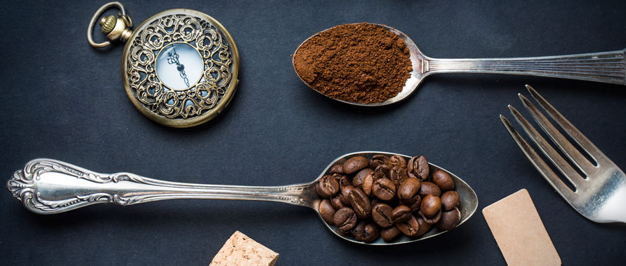 Difference between beans & ground coffee