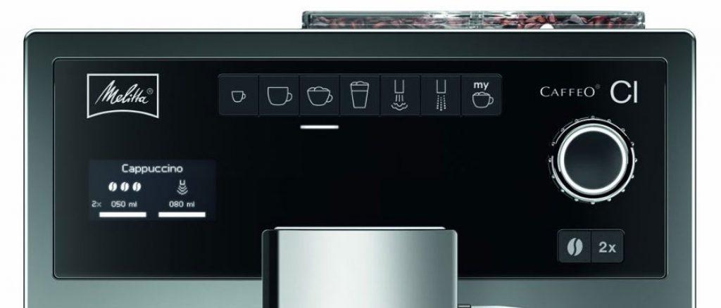 Caffeo CI Control Panel