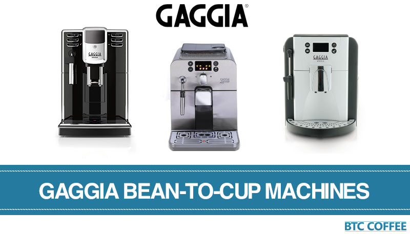 Our best Gaggia bean-to-cup machines