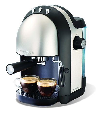 Example of an espresso machine