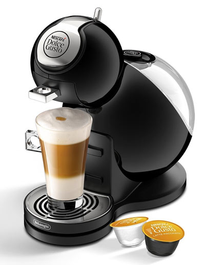 Example of a pod coffee machine
