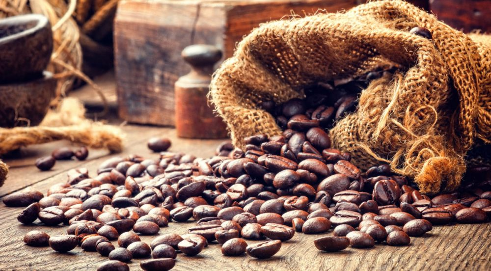 Coffee beans have a range of health benefits.
